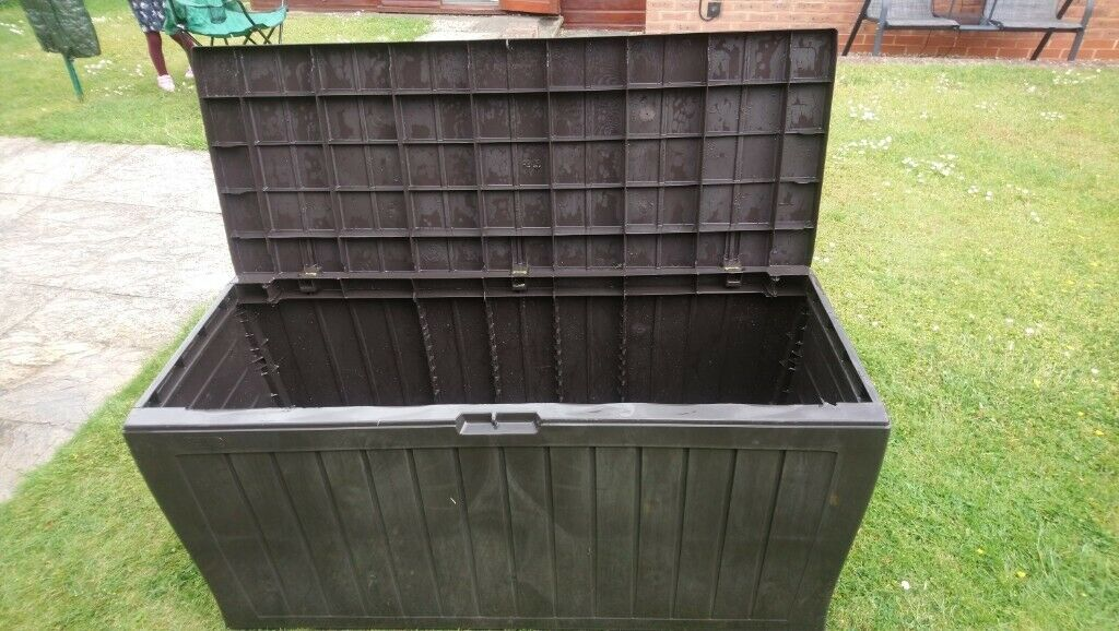 Super Keter Garden Storage Chest In Abbeymead Gloucestershire Gumtree Pabps2019 Chair Design Images Pabps2019Com
