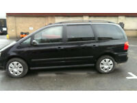 Black-Volkswagen-Sharan-S-TDI- 7 seater MPV DIESEL AUTOMATIC