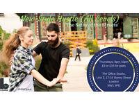 New-Style Hustle dance class #NWOpen
