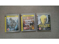 3x Playstation 3 (PS3) Games GTA Assassins Creed