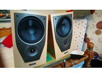 Mission M72 speakers