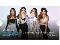 2 x Little Mix tickets - Gateshead Stadium