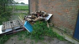 Free wood, old pallets etc