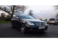 2008 Mercedes Benz C class * AMG Sports ** 75 K Miles *Diesel*Service History*Low Tax & Insurance