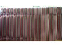 Striped Headboard for Double Bed