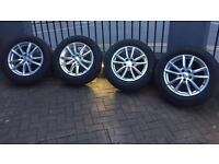 "19"" Genuine Range Rover Sport 5 SPLIT-SPOKE 'STYLE 501' Alloy Wheels & Tyres (Set of 4)"