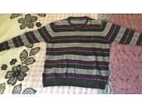 Mens Stripped Jumper Size XXL in excellent conditions