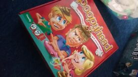 Kids toy board game poopy head