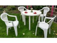 Beautiful IKEA Garden Table and Chairs