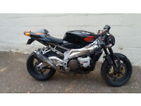 Aprillia rsv project, spares repairs track bike swaps why
