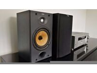 Bowers & Wilkins B&W DM601 S2 Black Excellent Condtion