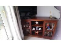 Coffee table and cabinet