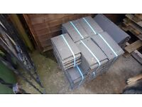 160 new marley eternit plain smooth grey tiles roof roofing