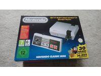 NES Nintendo classic mini console. In hand ready to go