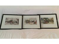 Three Carles Dickens prints by Albert Ludovici