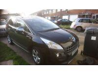 Peugeot 3008 Exclusive hdi black