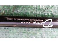 2 carp fishing rods=diawa d2234 +ron thompson c14 both r 2,3/4lb