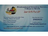 IRONING SERVICES THACKLEY