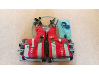 Peak UK Adventurer buoyancy vest for 75-95kg (XXL) in as-new condition