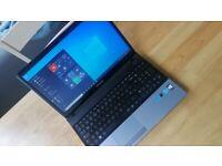 """Warranty fast 15.6"""" laptop SAMSUNG Intel core 256GB SSD Windows 10 Microsoft Office"""