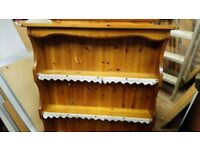 Pine wood shelves in good condition can deliver