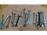 Spanners mixed sizes