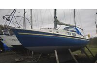 Yacht: Westerly Renown 33 sailing boat