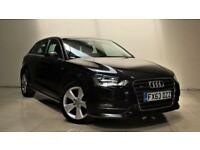 AUDI A3 2.0 TDI S LINE 5d 148 BHP + TOP SPEC WITH ALL THE EXTRAS (black) 2013