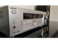 Sony STR-DE875 Home Cinema Amplifier Silver Good Condition Including Remote