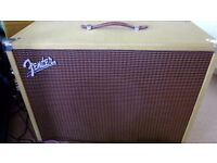 Tweed Extension cabinet. Fender by Eminence 12 inch speaker