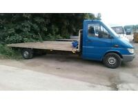 Aluminium flat bed van body 16x7ft