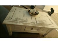 Rusric shabby chic coffee table great condition almost brand new