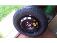 Ford Fiesta full size spare wheel