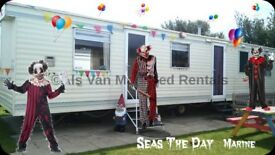 BARGAIN AUTUMN BREAKS: SEAS THE DAY, Marine Holiday Park, Rhyl, North Wales