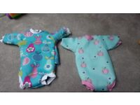 Baby wet suit bundle 6 months to 2 years