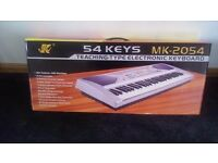 54 Keys LCD Teaching Type Keyboard MK-2054