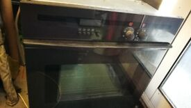 built in Neff single electric oven with pyrolithic (self cleaning) function
