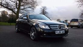 2008 Mercedes Benz C class *12 Months MOT* AMG Sports ** 75 K Miles *Diesel*Low Tax & Insurance