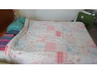 Double divan Bed less than 1 year old
