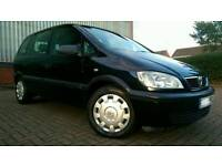 2004/54 VAUXHALL ZAFIRA 1.6 LIFE 2 OWNERS IMMACULATE CONDITION