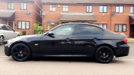BMW 320D Msport, Auto, Black