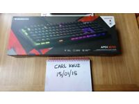 BRAND NEW Steelseries M750 RGB gaming keyboard