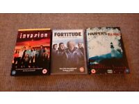 Fortitude/Harpers Island/Invasion complete dvd tv series box sets
