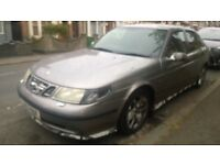 Saab 9-5 for sale in good condition inside and outside. MOT until Jan 2019