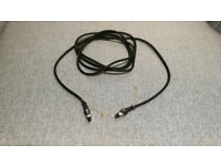 SPDIF Optical Audio Cables 1m and 3m