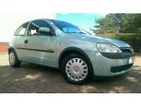 2002/02 VAUXHALL CORSA 1.2 CLUB 1 OWNER IMMACULATE CONDITION LONG MOT