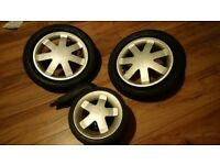Quinny buzz spare wheel set