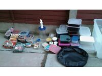 JOB LOT OF BAIT AND BOXES