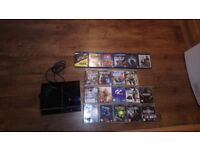 RARE Ps3 with games, movies, 1 controller (backward psx compability)