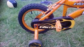 "14"" Huffy Inferno nearly new boys bike"